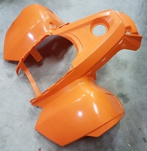 COVER, FRONT ORANGE CEW